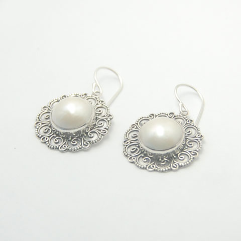 li unique silver pearl jewelry wholesale