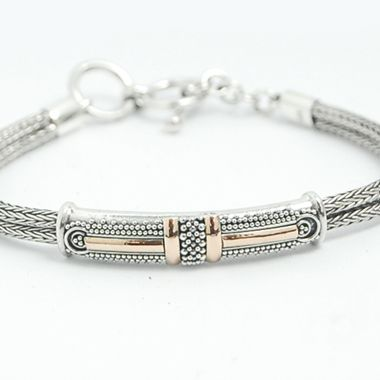 Bali silver Jewelry earring wholesale gold and silver bracelet