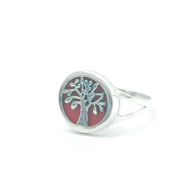 bali silver ring tree of life
